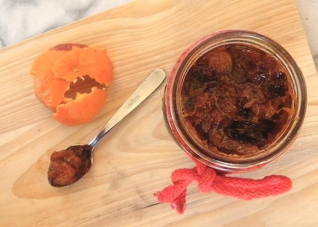 Marmellata di mandarini, arance rosse e mandorle