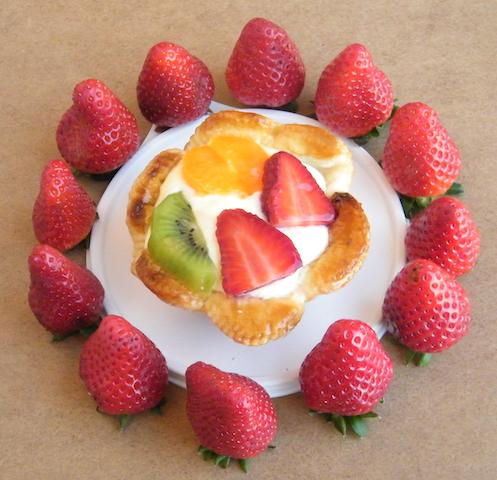 Cestini di sfoglia alla frutta