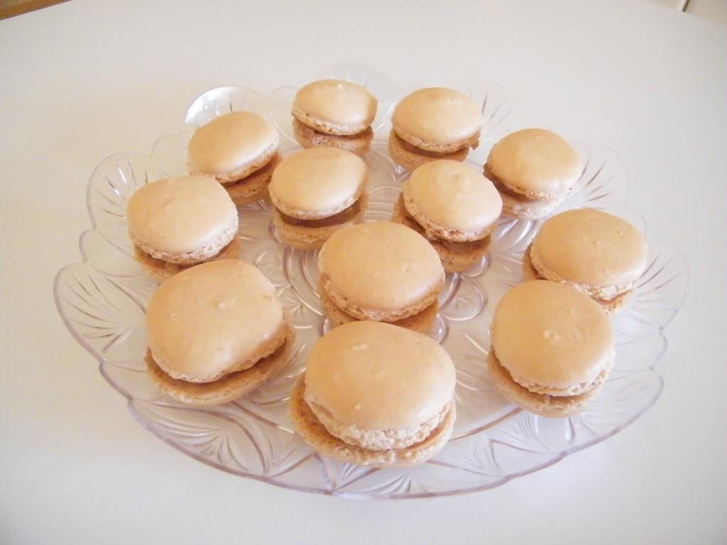 Macarons al dulce de leche
