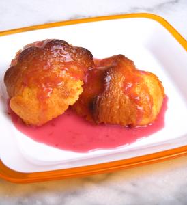 DSCF3426 274x300 Muffins al limone in salsa ai frutti di bosco