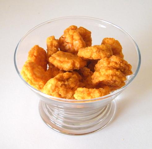 Hot rice snacks