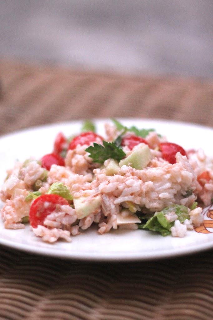 Insalata di riso... del mio orto