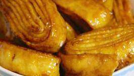 Tagliatelle fritte dolci di Carnevale