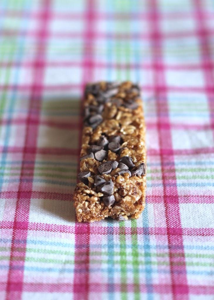IMG 0900 Barretta ai cereali e gocce di cioccolato