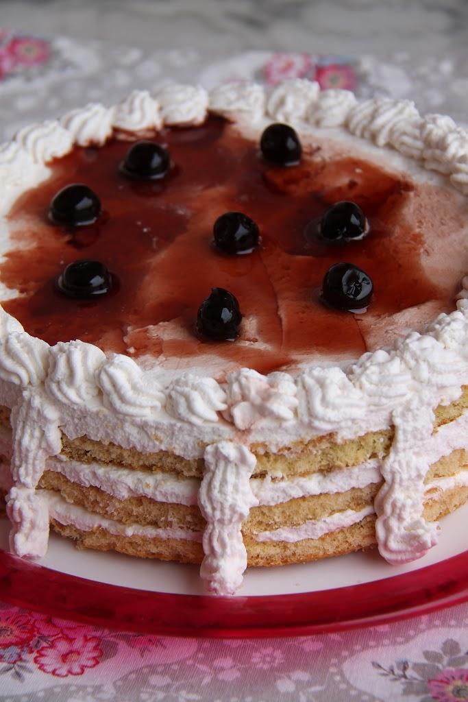 Torta semifreddo alle Amarene
