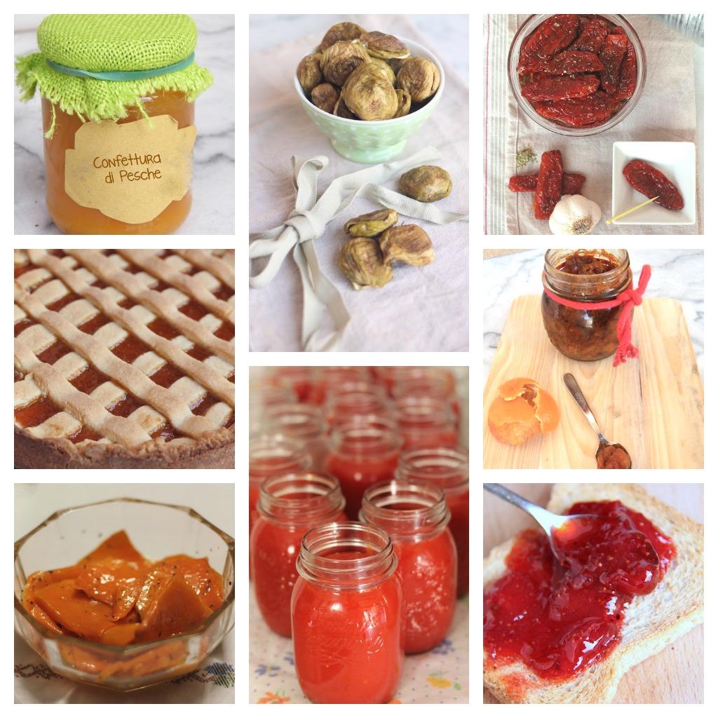 Conserve fatte in casa dal dolce al salato ai sottolii for Marmellate fatte in casa senza zucchero