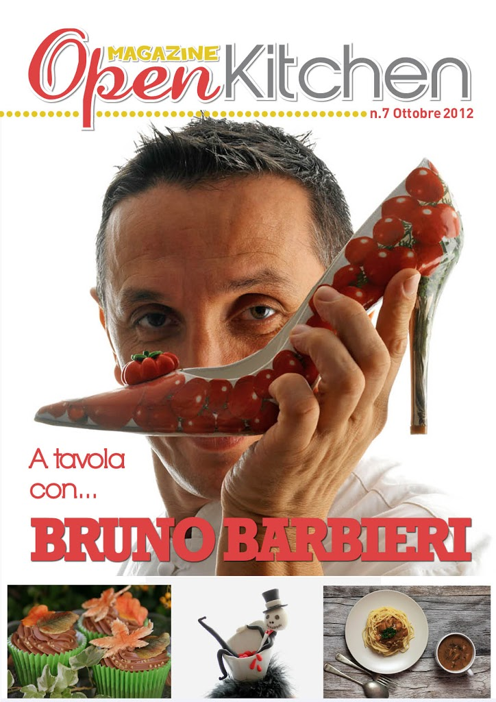Open Kitchen Magazine con l'intervista a Bruno Barbieri, giudice di Masterchef