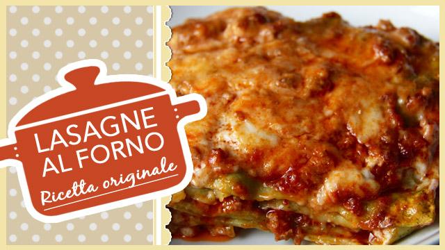 Lasagne al forno alla bolognese, ricetta originale