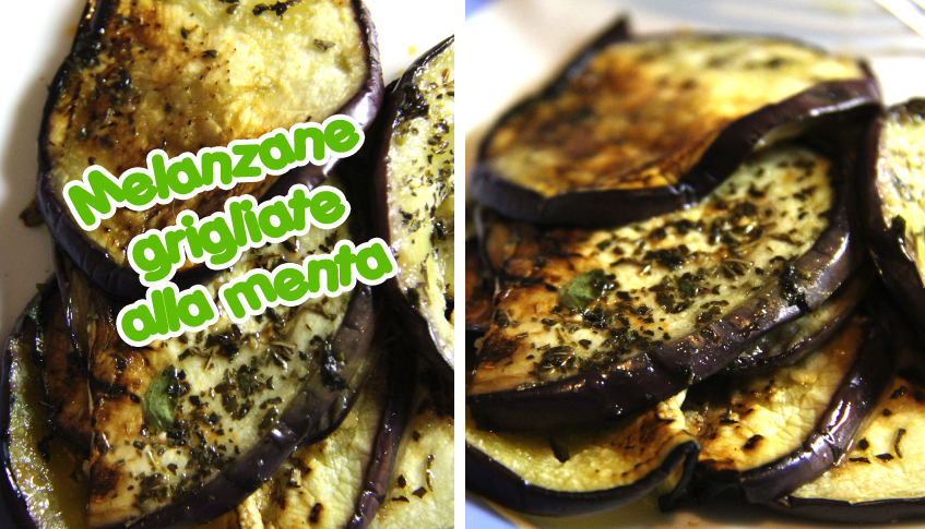 melanzane grigliate alla menta ricetta