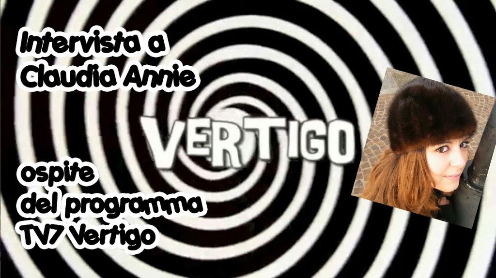 Intervista a Claudia Annie, ospite di TV7 Vertigo