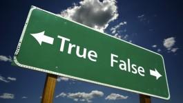 Falsi miti da sfatare