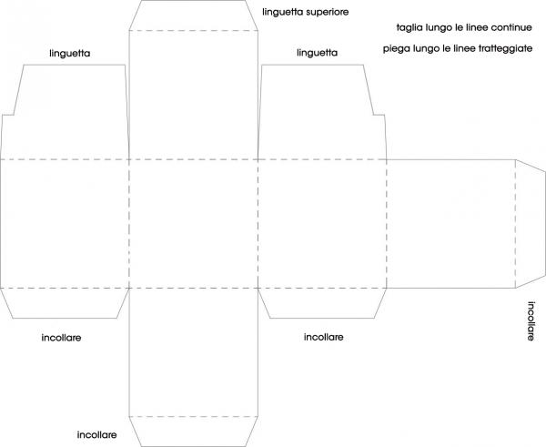 Popolare Scatoline di carta - Tutte le offerte : Cascare a Fagiolo GJ16