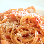 Spaghetti all'amatriciana, ricetta originale