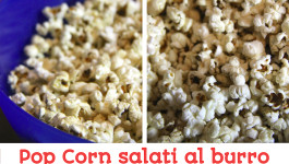 Pop Corn salati al burro come al cinema