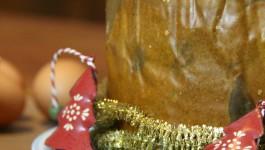 Panettone farcito con Mousse al mascarpone e Cioccolato