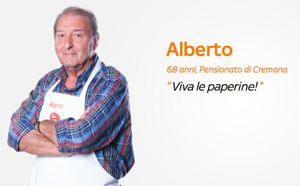 MasterChef Italia 3: Alberto e le sue Paperine