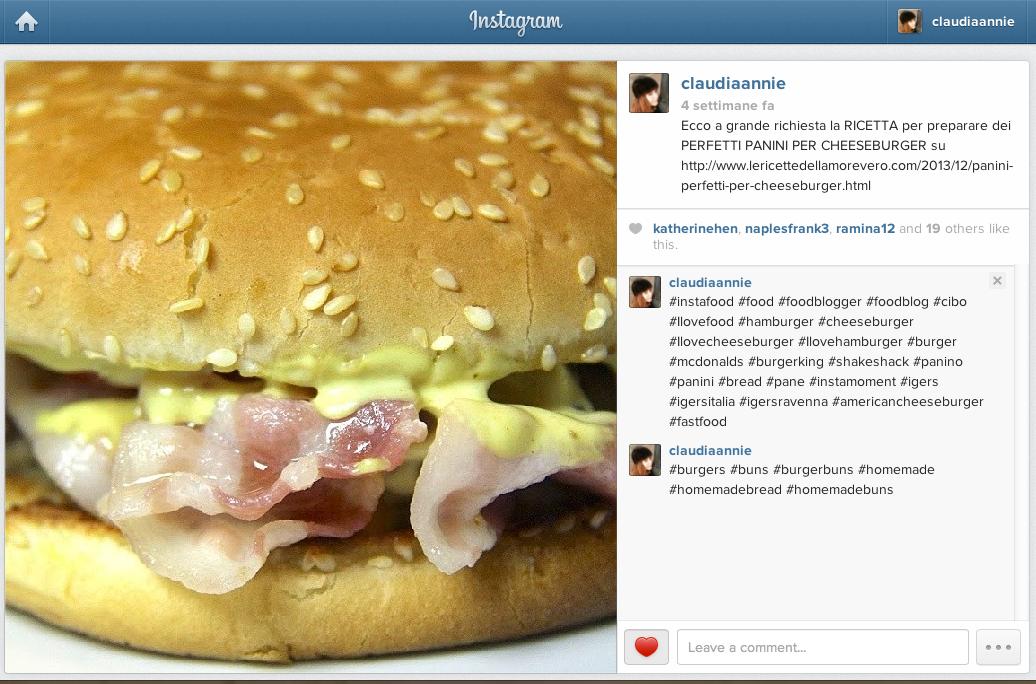 Instagram Food Hashtag più popolari per chi ama cibo e cucina