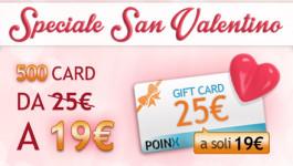 Speciale San Valentino con Poinx