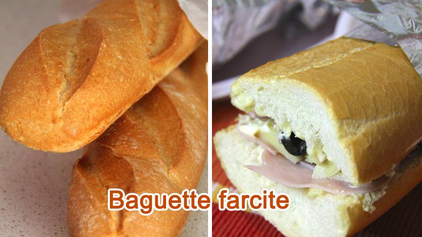Baguette farcite