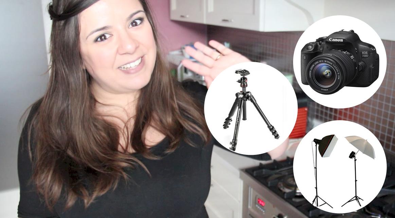 Il mio Kit completo per fare Video e Foto + consigli utili