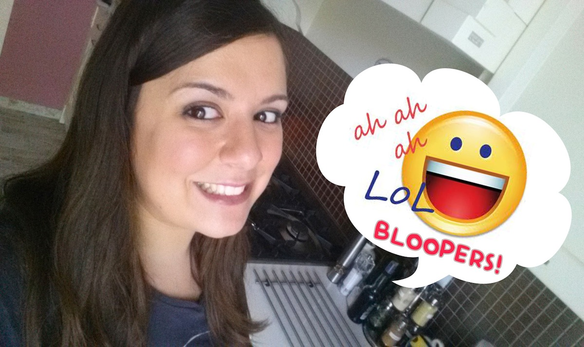Bloopers, le papere di Claudia Annie