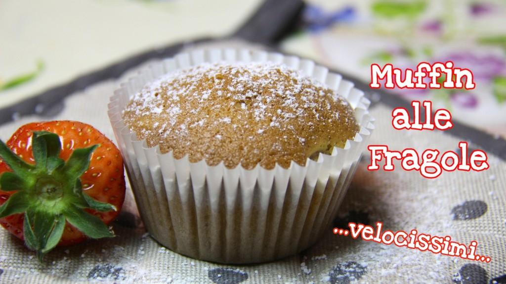 Muffin alle fragole velocissimi