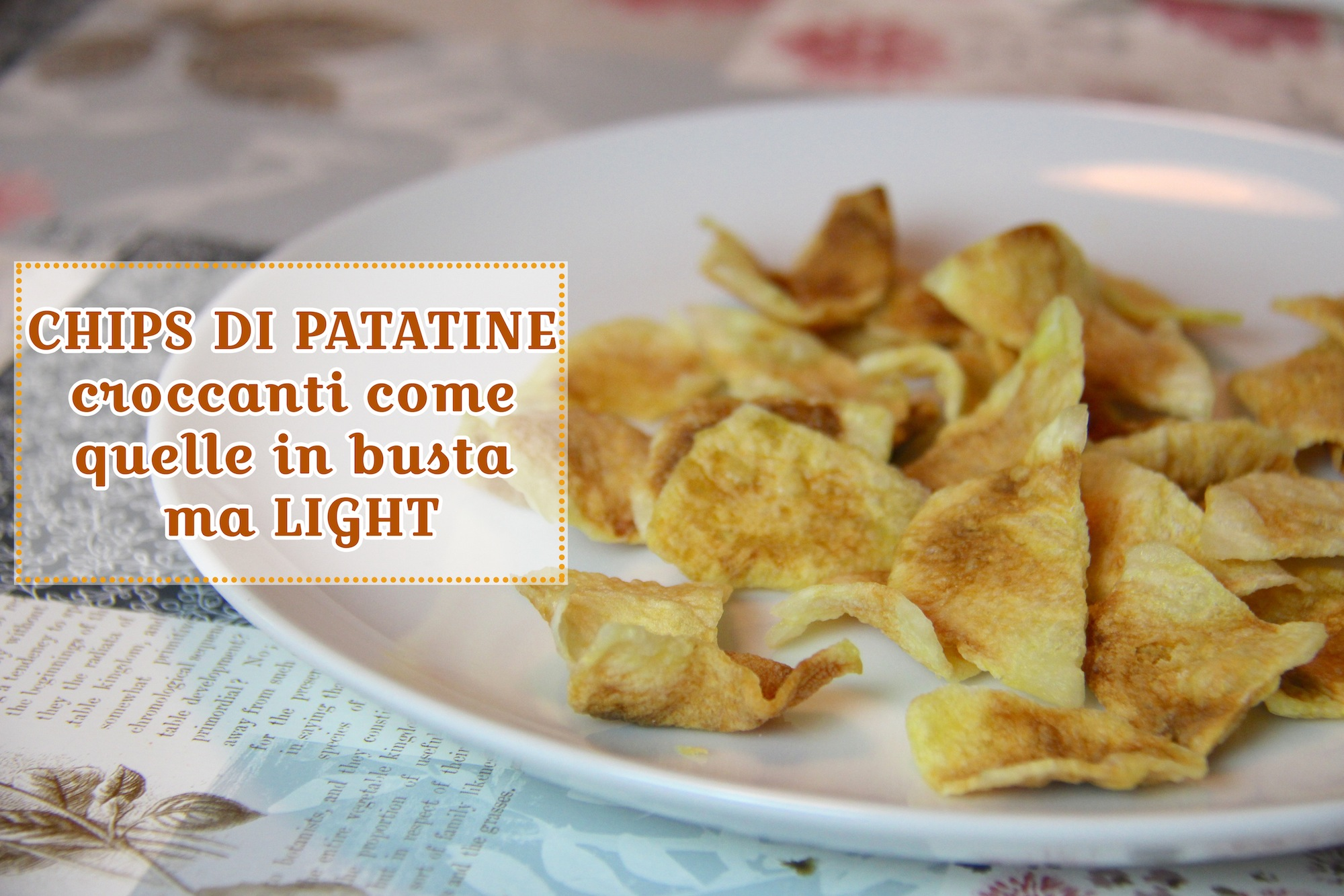 CHIPS PATATINE LIGHT al microonde