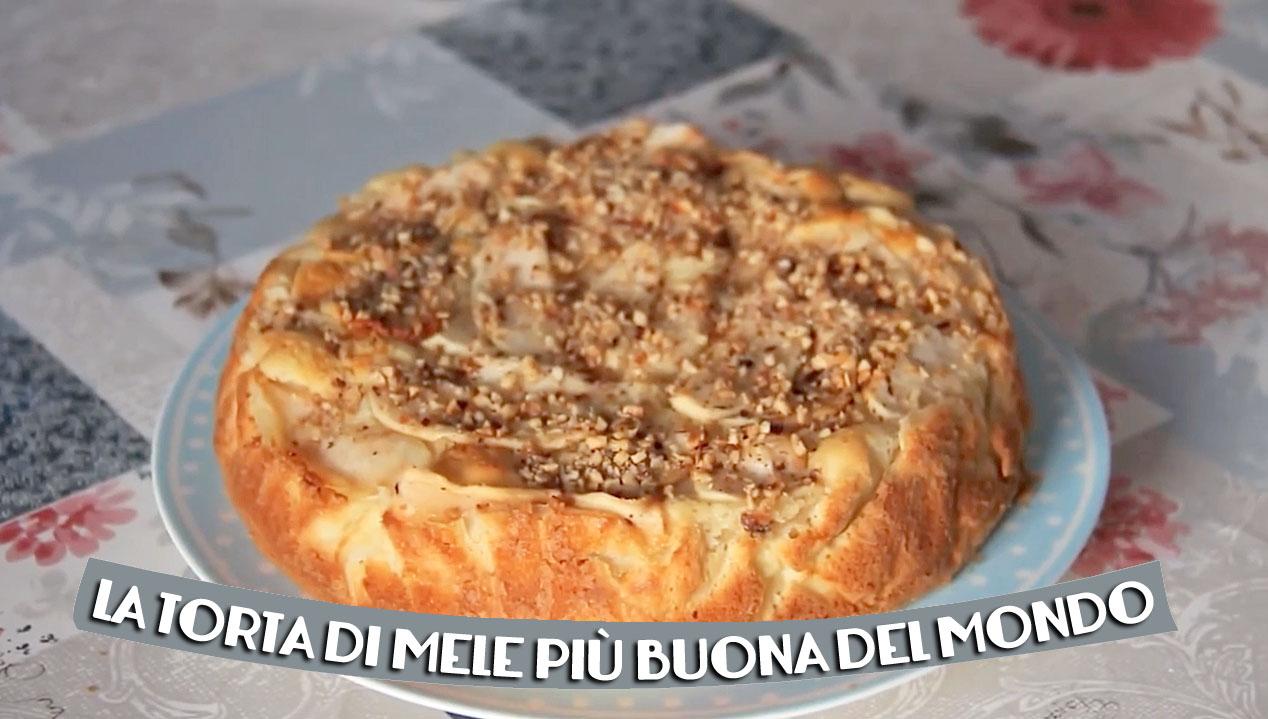 LA TORTA DI MELE PIÙ BUONA DEL MONDO! Provare per credere!
