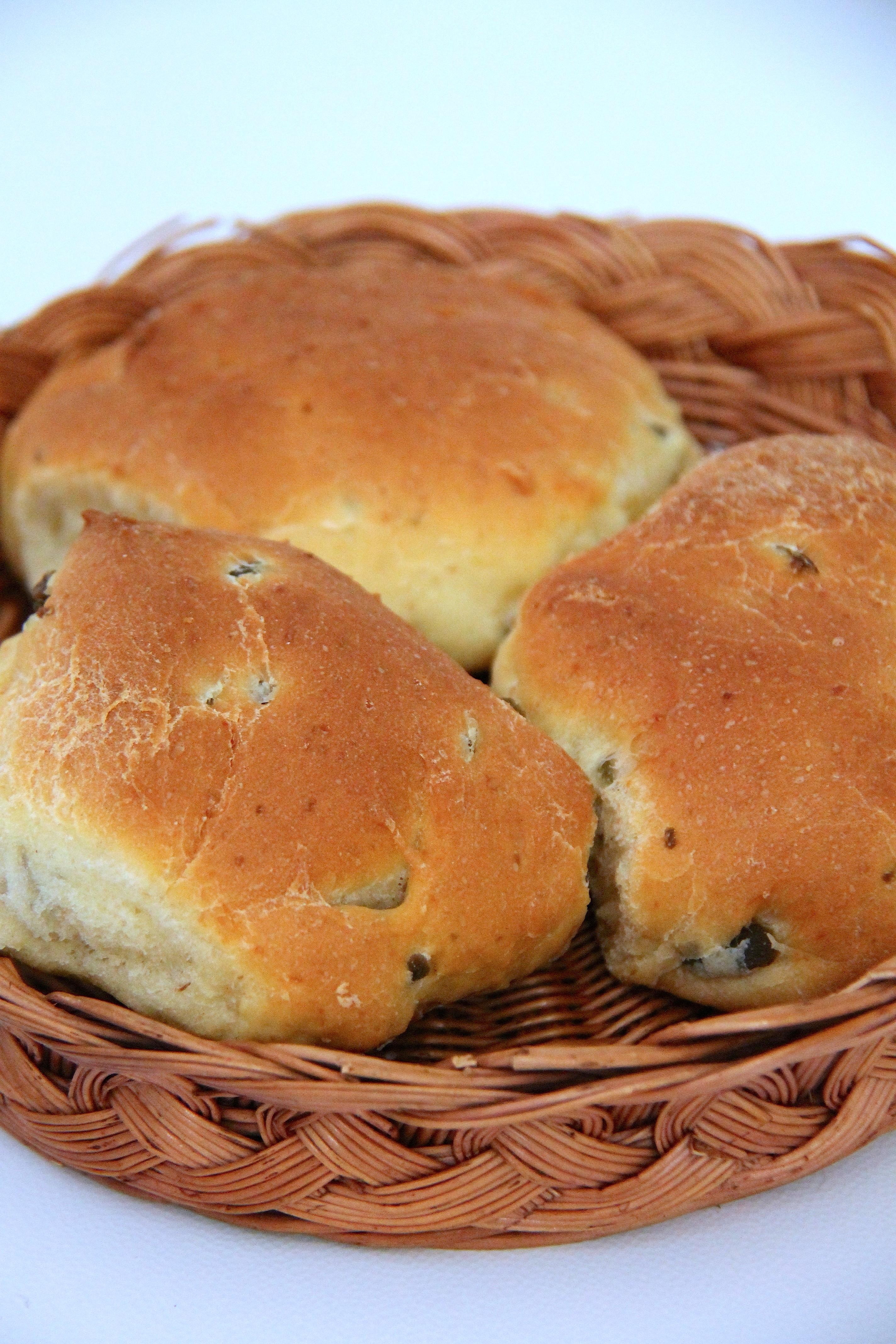 Bocconcini di pane con le olive