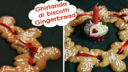 Ghirlanda di Biscotti Gingerbread - Christmas cookies Garland