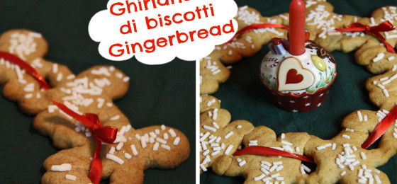 GHIRLANDA DI BISCOTTI PAN DI ZENZERO | Christmas Gingerbread Garland