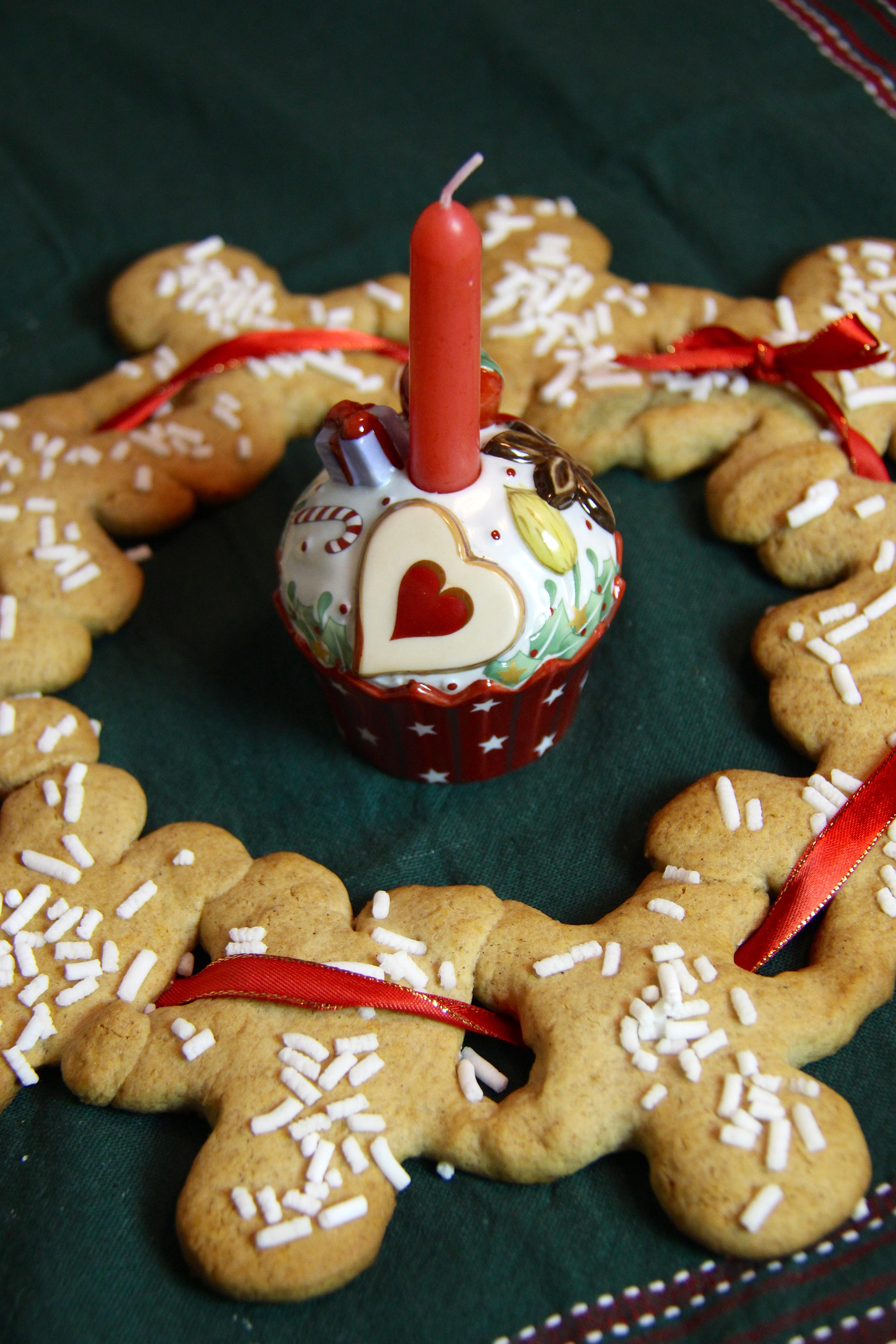 Ghirlanda di Biscotti Gingerbread – Christmas cookies Garland