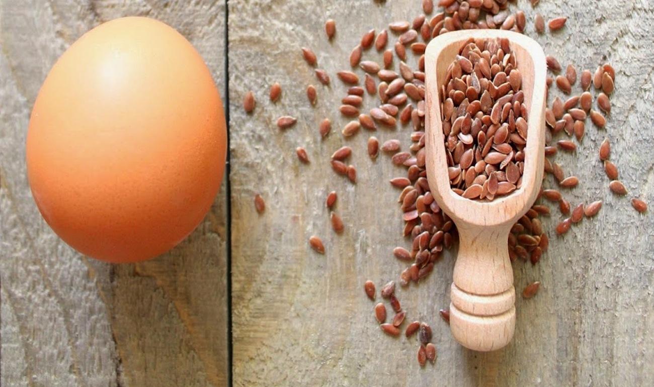 Sostituire le Uova con il Gel di semi di lino