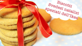 Biscotti Svedesi natalizi Pepparkakor (i biscotti speziati dell'Ikea)