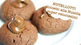 Nutellotti, dolcetti alla Nutella super velocissimi