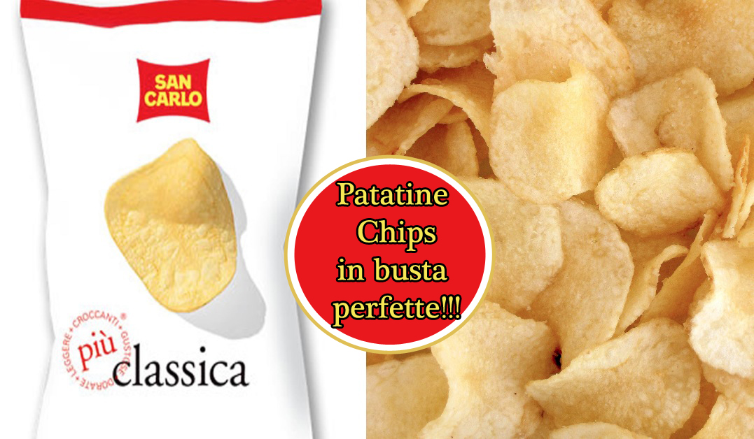 Patatine Chips in busta perfette: ecco come si preparano