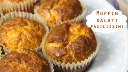 Muffin salati facilissimi
