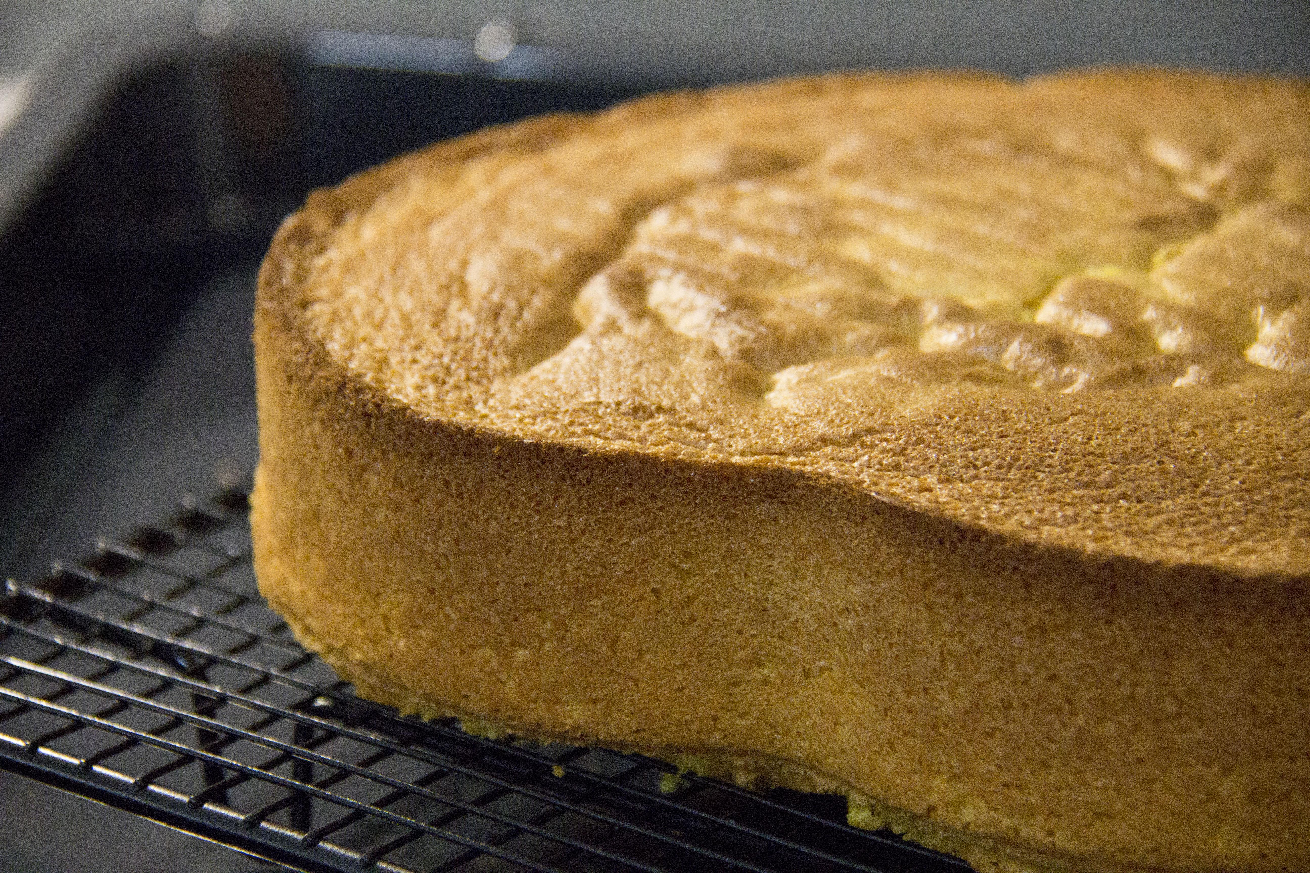 Pan di spagna ricetta perfetta facilissima senza lievito - Glassa a specchio su pan di spagna ...