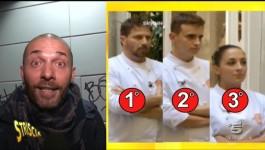 Masterchef: Striscia la Notizia rivela il vincitore e riceve insulti dal web
