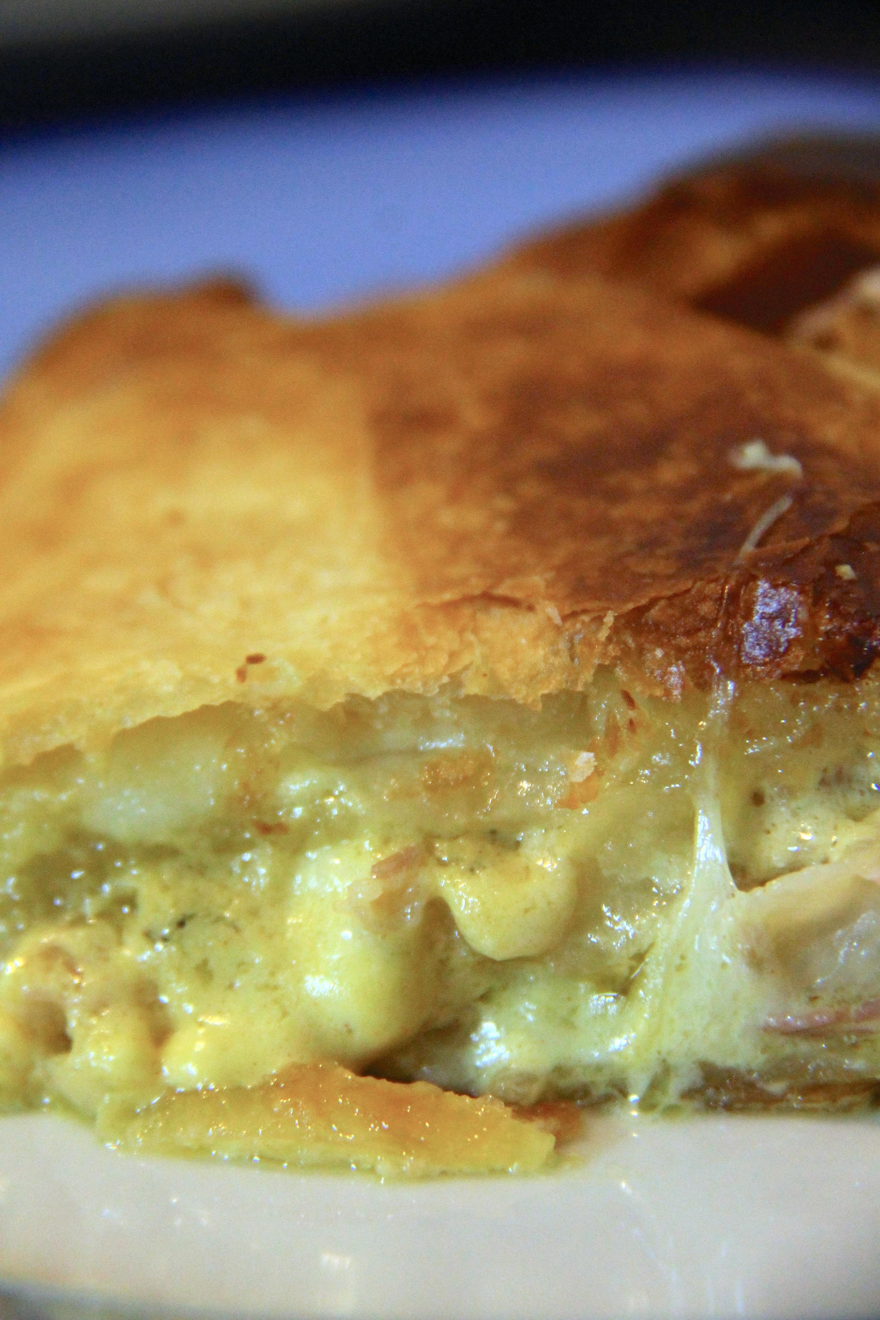 Rollè di sfoglia con pancetta e mozzarella