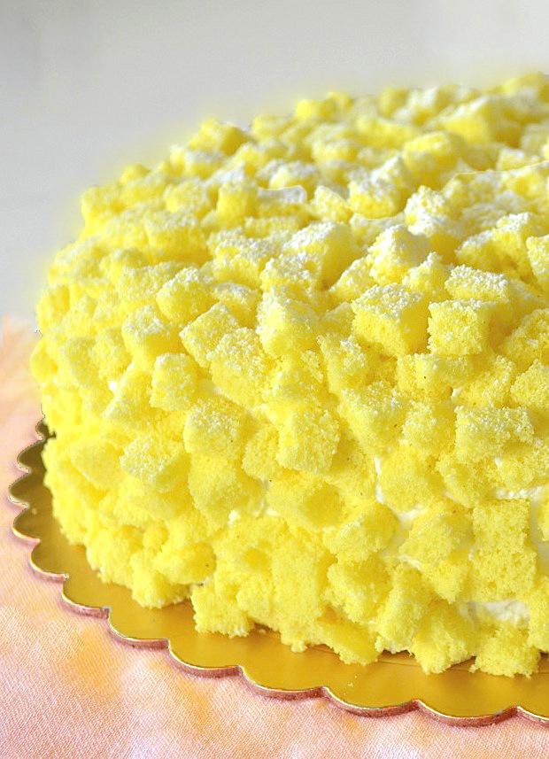 competitive price 0dae5 0c229 Torta Mimosa, ricetta originale per la Festa della Donna