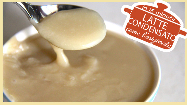 Latte condensato in 15 minuti, come l'originale
