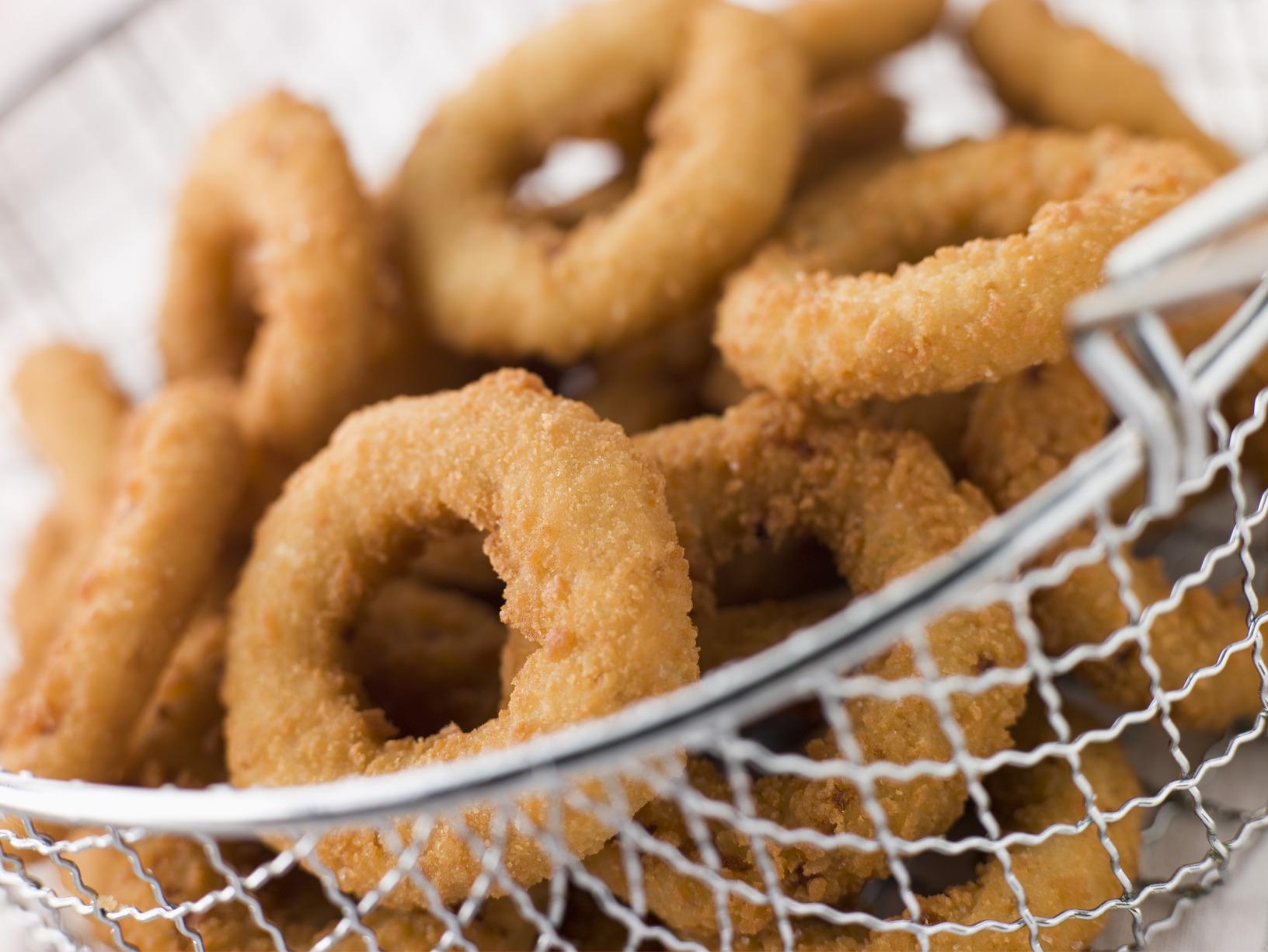 funzionario di vendita caldo consistenza netta scegli il meglio Onion rings o Anelli di cipolla fritti, ricetta originale ...