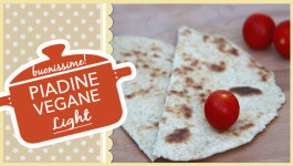 Piadine light vegane buonissime