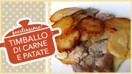 Timballo di carne e patate