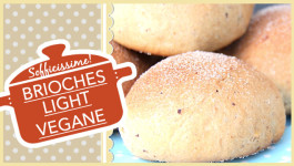Brioches Light Vegane sofficissime