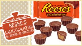 RESEE'S cioccolatini al burro d'arachidi come gli originali americani