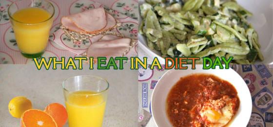 Cosa mangio in un giorno di dieta #2