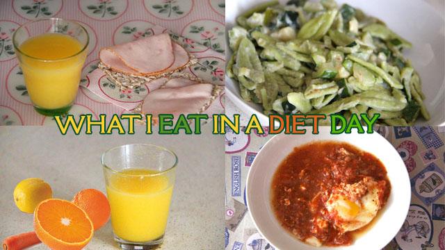 COSA MANGIO IN UN GIORNO DI DIETA - What I eat in a Diet Day
