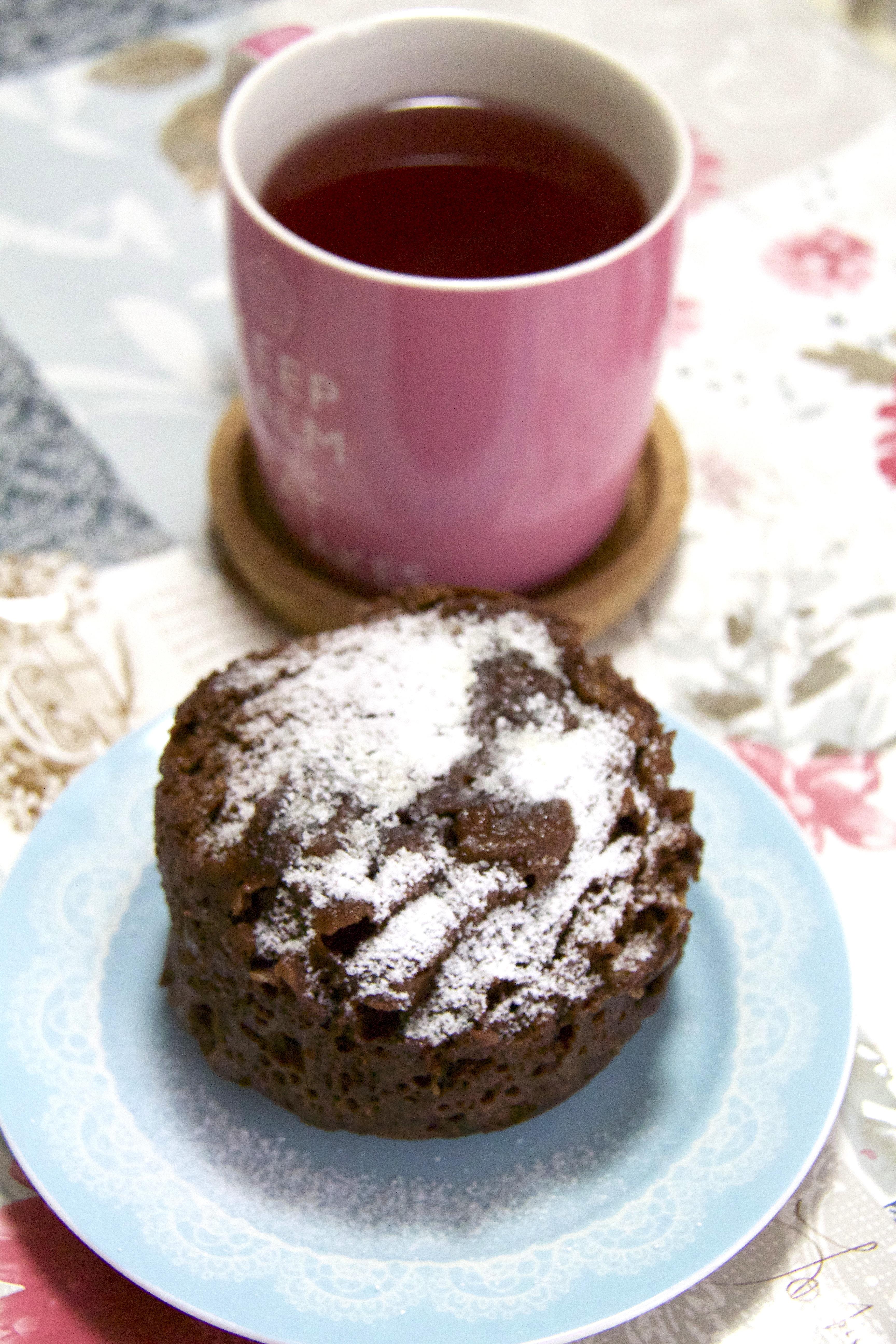 MUG CAKE ALLA NUTELLA · torta in tazza al microonde in 2 minuti